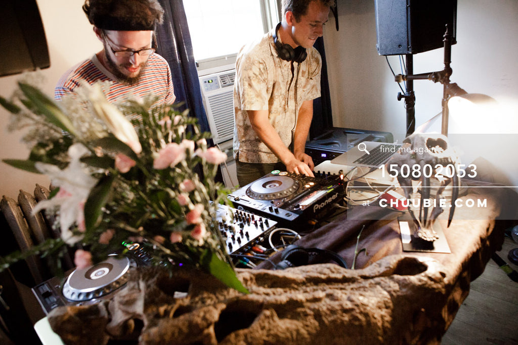 150802053 | Matt Sagotsky & Ben Gleitzman DJ at Team Fun summer sessions. —Team Fun BBQ hosted by Sublima... | Team Chuubie