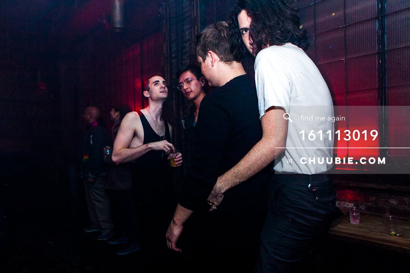 161113019 | Mysterious queer goth candid #2. — The Carry Nation w/ Sweat Equity & Jonjo Jury. Saturday, N... | Team Chuubie
