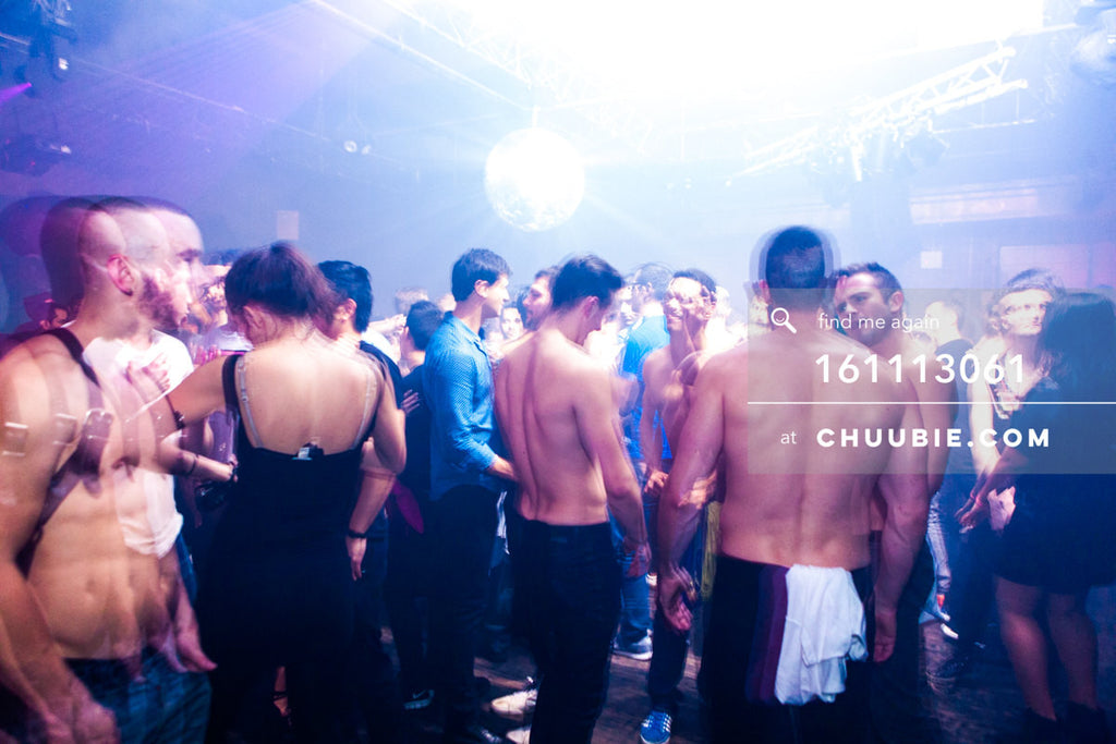 161113061 | Shirtless boys, leather harnesses, and girls on the dance floor. — The Carry Nation w/ Sweat Equi... | Team Chuubie