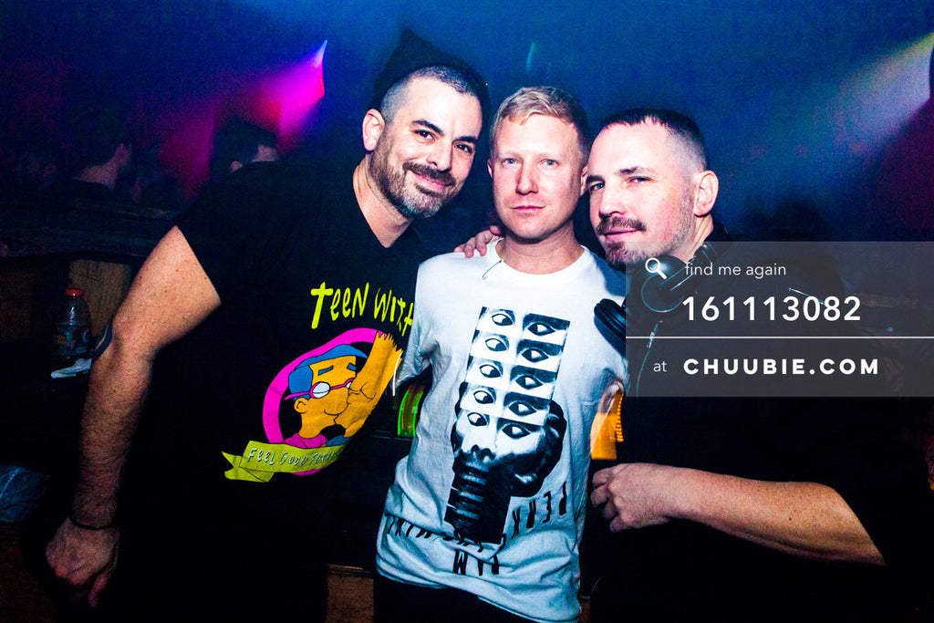 161113082 | Group shot of DJs Nita Aviance & Will Automagic (The Carry Nation) w/ Jonjo Jury. — The Carry... | Team Chuubie