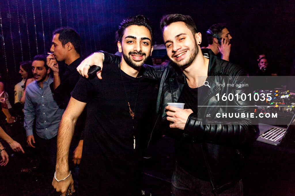 160101035 | Promoter Tal Ohana & Adam Simon —Tal Ohana's ZigZag Deep NYC. New Year 2016 warehouse party, ... | Team Chuubie