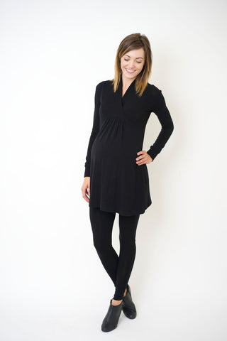 """Tanya- Black"" During & After Tunic"