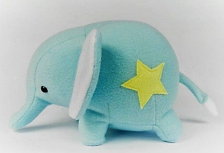 "The ""Baby Elephant"" Stuffed Animal  (Blue or Pink)"