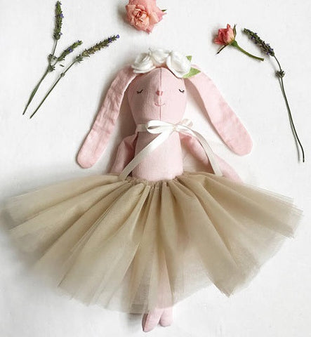 "The ""Pink Ballerina Bunny"" Doll"