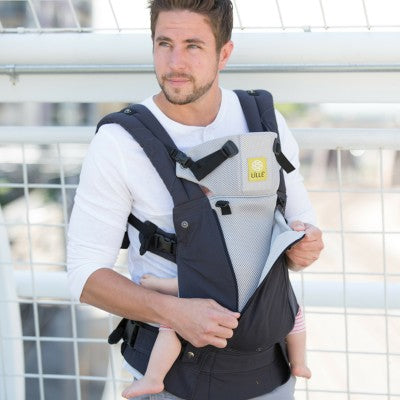 """Complete All Seasons"" Baby Carrier - Frosted Rose"