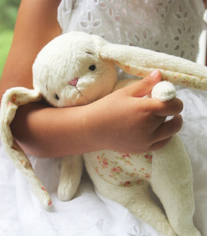 "The ""White Cuddle Bunny"""