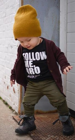 "The ""Follow Me, Bro"" T-shirt"