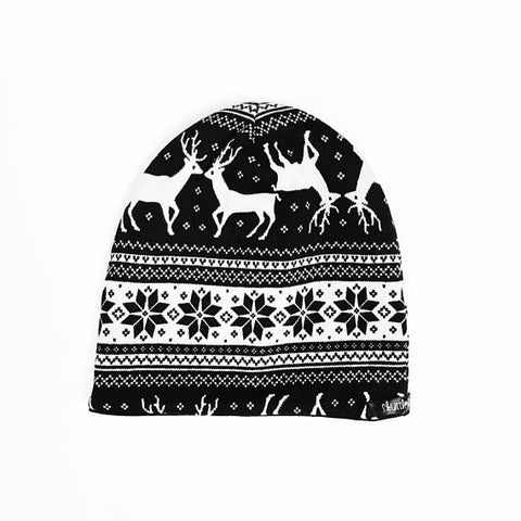 "The""Monochrome Holiday"" Beanie"