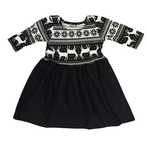 "The ""Holiday Monochrome"" Dress"