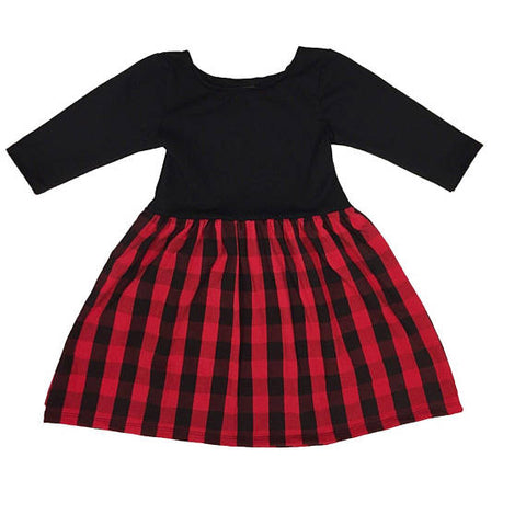 "The ""Red Buffalo Plaid"" Dress"