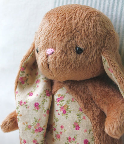 "The ""Brown Cuddle Bunny"" - Rose"