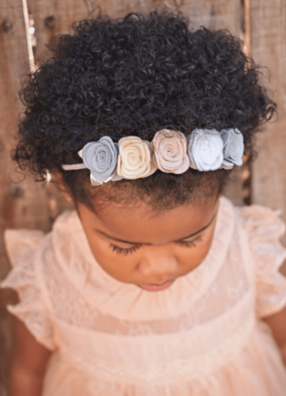 "Mini ""Natural Beauty"" Flower Crown"