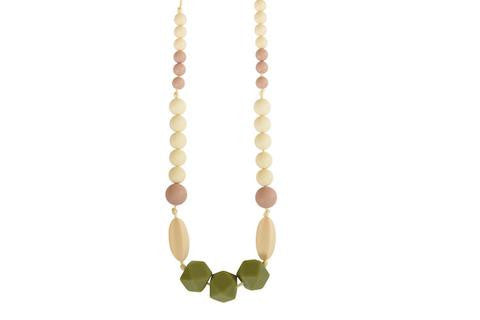 "The ""Kimberly"" teething necklace"