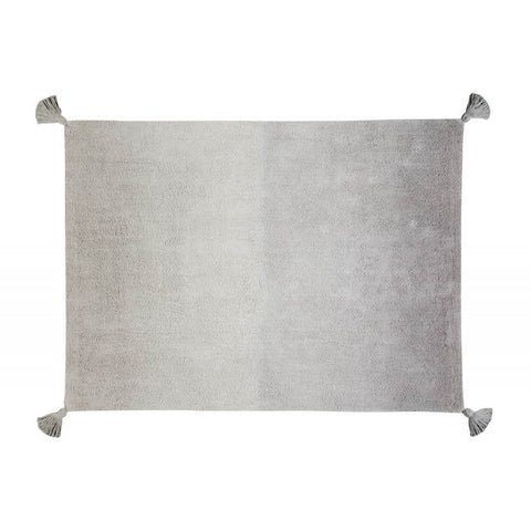 """Ombre"" Dark Grey-Grey Rug"