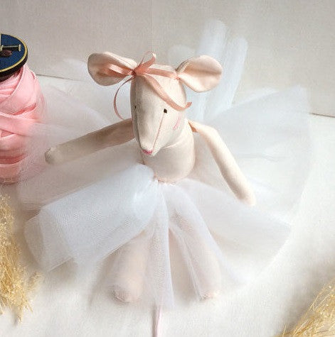 "The ""Baby Ballerina Mouse"" Doll"