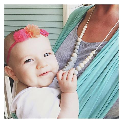 "The ""Vivian"" teething necklace"