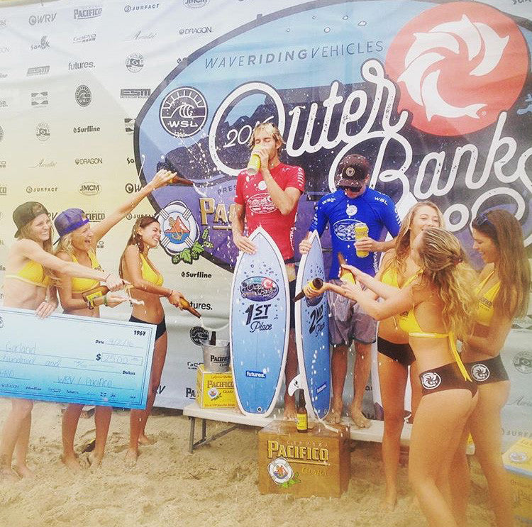 Kilian Garland wins the 2016 Outer Banks Pro!!