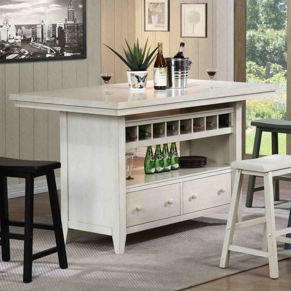Kitchen Islands Made From Old Furniture: ECI Furniture Antique White Four Seasons Kitchen Island