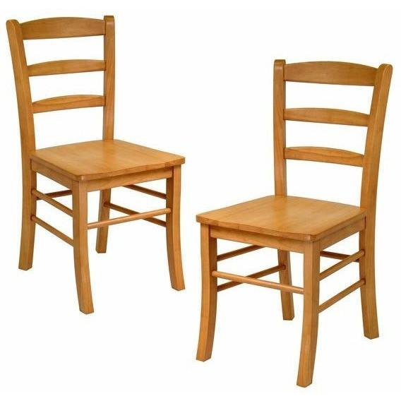 Winsome Groveland 3pc Dining Set Square Table with 2 Chairs