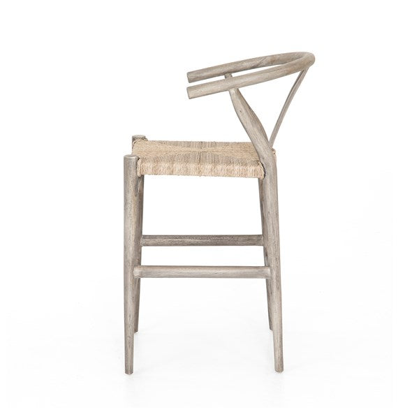 Surprising Kaycie Bar Stool Counter Stool Weathered Grey Ncnpc Chair Design For Home Ncnpcorg
