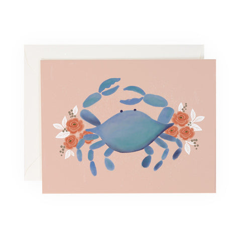 Pink Crab - Anchor Point Paper Co.