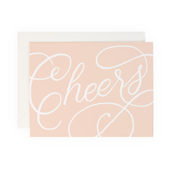 Cheers Script - Anchor Point Paper Co.