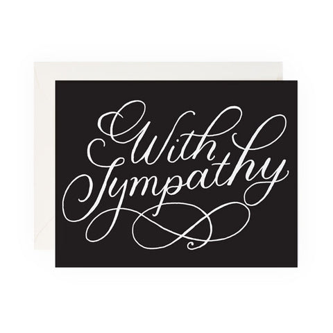 With Sympathy - Anchor Point Paper Co.