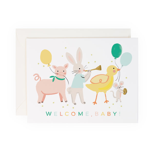Baby Animals - Anchor Point Paper Co.