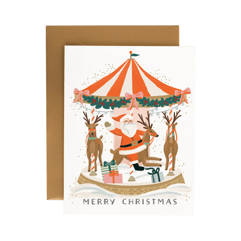 Christmas Carousel - Anchor Point Paper Co.