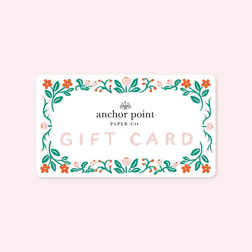 Gift Card - Anchor Point Paper Co.