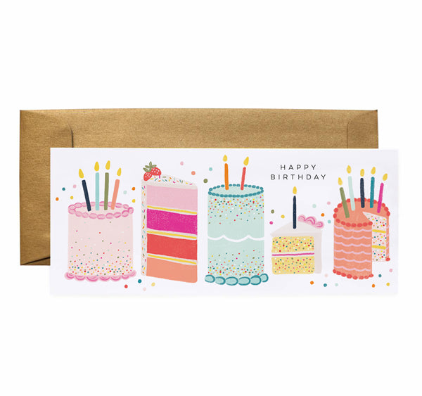 Birthday Cakes - Anchor Point Paper Co.