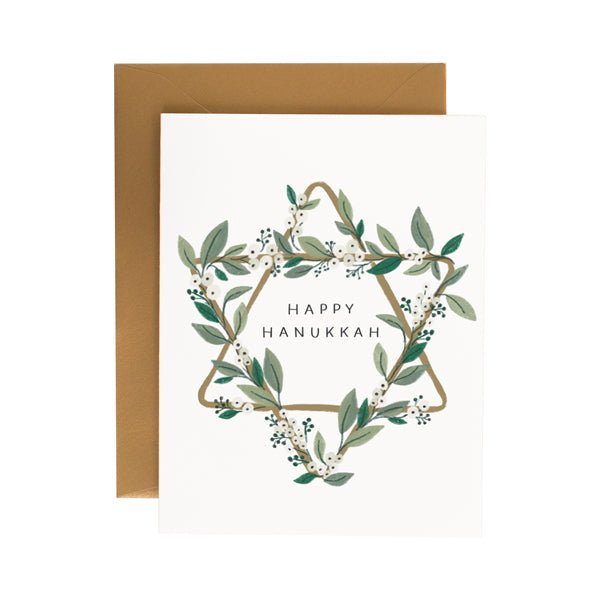 Hanukkah Star - Anchor Point Paper Co.