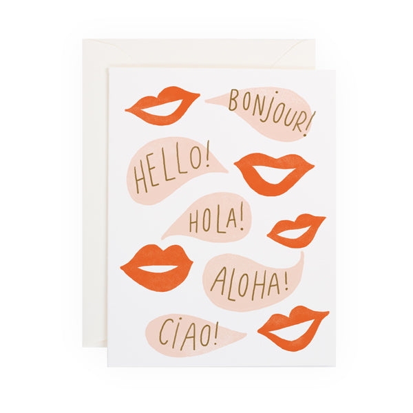 Hello Lips - Anchor Point Paper Co.