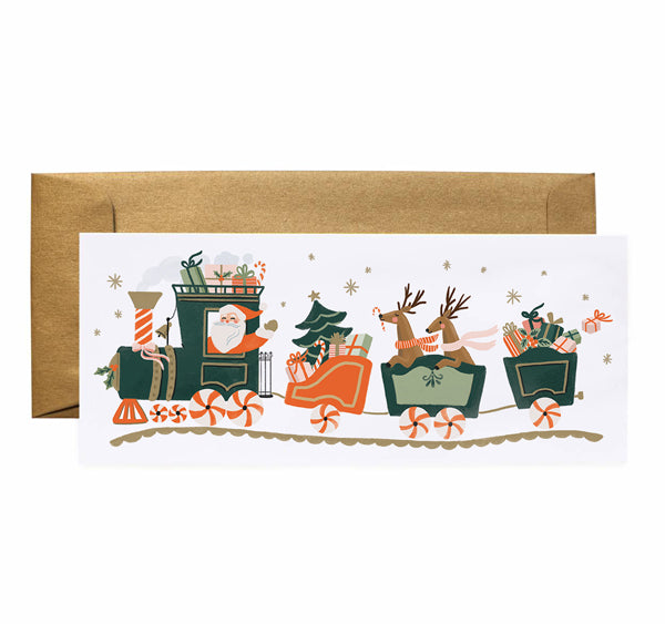 Christmas Train - Anchor Point Paper Co.
