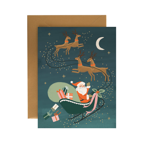 Santa's Sleigh - Anchor Point Paper Co.