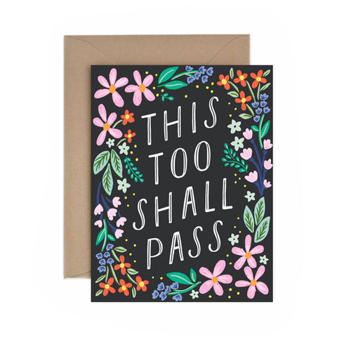 This Too Shall Pass - Anchor Point Paper Co.