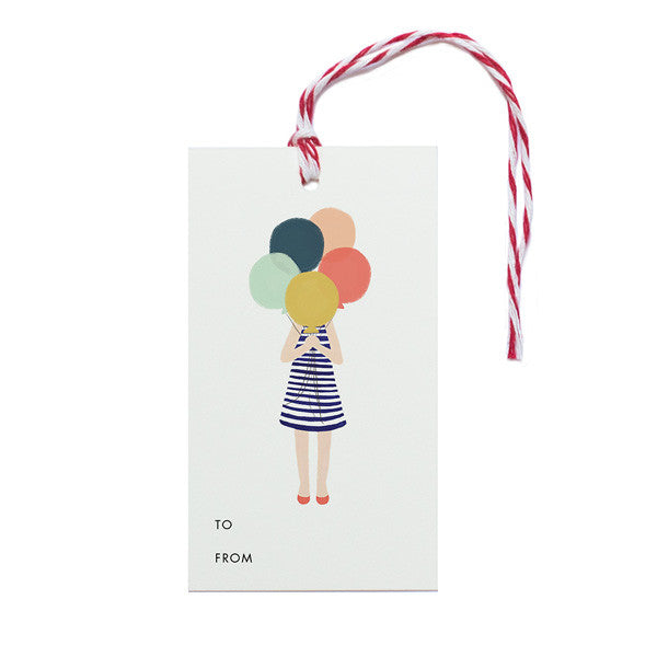 Balloon Girl - Anchor Point Paper Co.