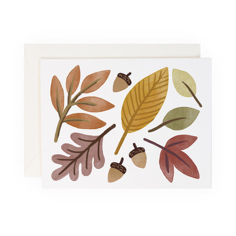 Fall Leaves - Anchor Point Paper Co.