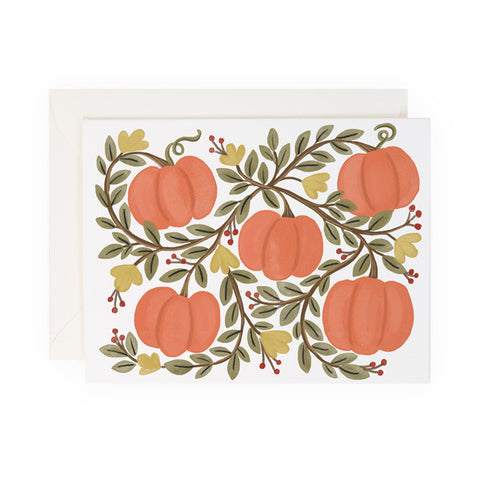 Pumpkin Vines - Anchor Point Paper Co.