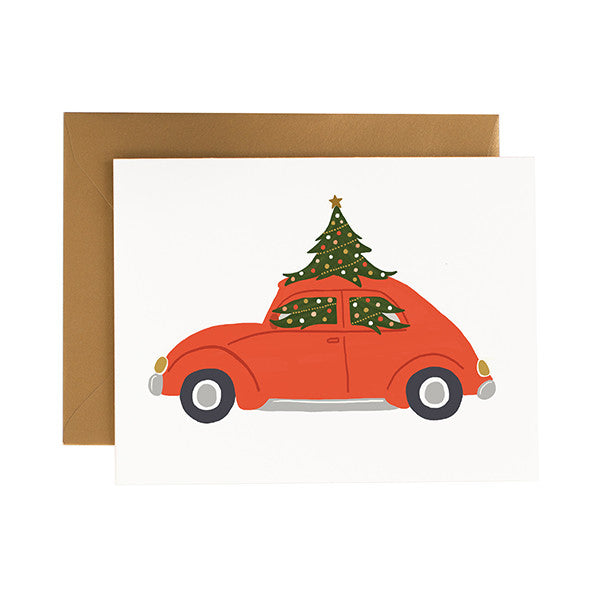 Christmas Car - Anchor Point Paper Co.