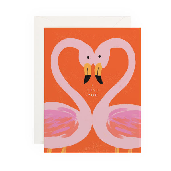 Flamingo Love - Anchor Point Paper Co.