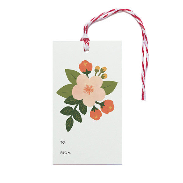 Botanical Gift Tags - Anchor Point Paper Co.