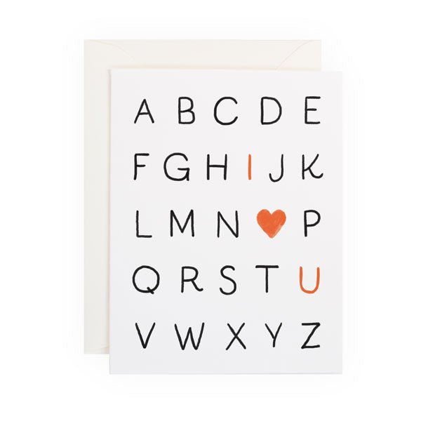 Love Alphabet - Anchor Point Paper Co.