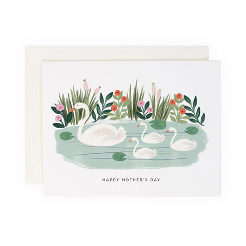 Mother's Day Swans - Anchor Point Paper Co.