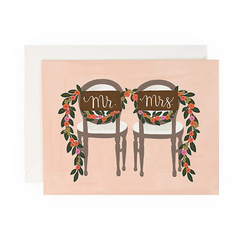Mr. & Mrs. Chair - Anchor Point Paper Co.