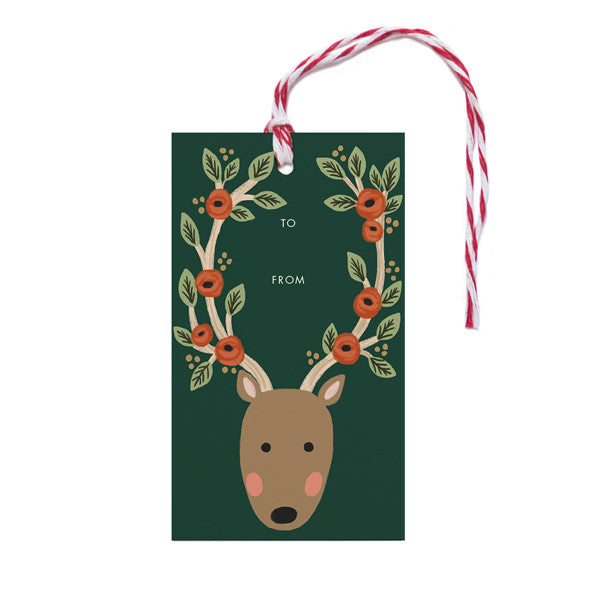 Reindeer Antlers - Anchor Point Paper Co.