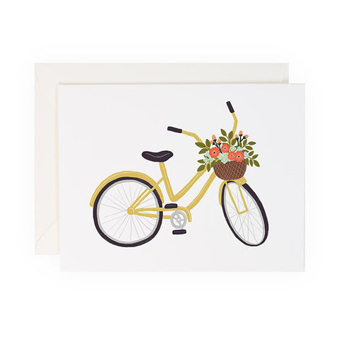 Yellow Bicycle - Anchor Point Paper Co.
