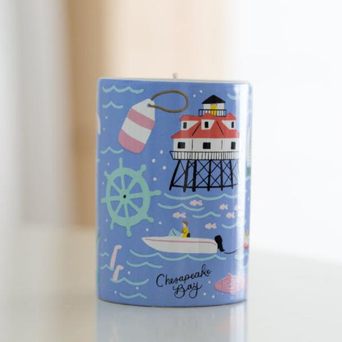 "Chesapeake Bay ""Chesapeake"" Candle - Anchor Point Paper Co."