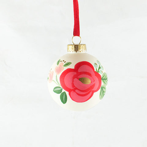 Rosa Ornament - Anchor Point Paper Co.