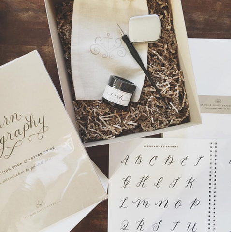 Calligraphy Starter Kit - Anchor Point Paper Co.